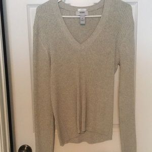 Old Navy grey/oatmeal XL sweater